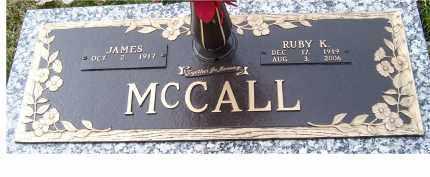MCCALL, JAMES - Scioto County, Ohio | JAMES MCCALL - Ohio Gravestone Photos
