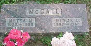 MCCALL, MINOR C. - Scioto County, Ohio | MINOR C. MCCALL - Ohio Gravestone Photos