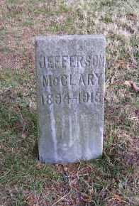 MCCLARY, JEFFERSON - Scioto County, Ohio | JEFFERSON MCCLARY - Ohio Gravestone Photos