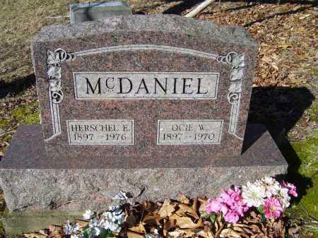 MCDANIEL, HERSCHEL E. - Scioto County, Ohio | HERSCHEL E. MCDANIEL - Ohio Gravestone Photos
