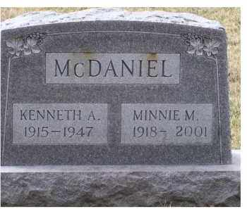 MCDANIEL, KENNETH A. - Scioto County, Ohio | KENNETH A. MCDANIEL - Ohio Gravestone Photos
