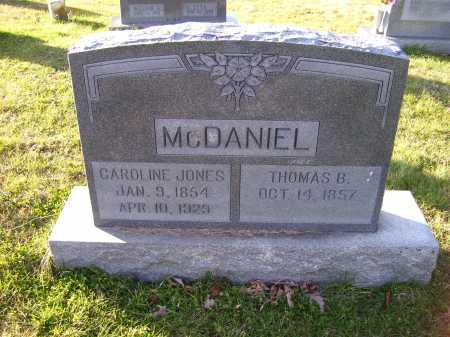 MCDANIEL, THOMAS B. - Scioto County, Ohio | THOMAS B. MCDANIEL - Ohio Gravestone Photos