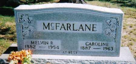 MCFARLANE, MELVIN R. - Scioto County, Ohio | MELVIN R. MCFARLANE - Ohio Gravestone Photos