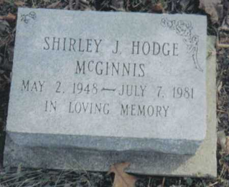 MCGINNIS, SHIRLEY J. - Scioto County, Ohio | SHIRLEY J. MCGINNIS - Ohio Gravestone Photos