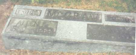 MCGRAW, EMMA - Scioto County, Ohio | EMMA MCGRAW - Ohio Gravestone Photos
