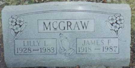MCGRAW, JAMES F. - Scioto County, Ohio | JAMES F. MCGRAW - Ohio Gravestone Photos
