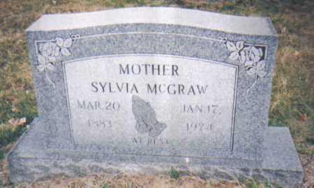 MCGRAW, SYLVIA - Scioto County, Ohio | SYLVIA MCGRAW - Ohio Gravestone Photos