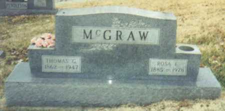 MCGRAW, ROSA E. - Scioto County, Ohio | ROSA E. MCGRAW - Ohio Gravestone Photos