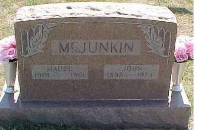 MCJUNKIN, MAUDE - Scioto County, Ohio | MAUDE MCJUNKIN - Ohio Gravestone Photos