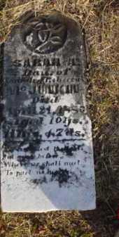 MCJUNKIN, SARAH A. - Scioto County, Ohio | SARAH A. MCJUNKIN - Ohio Gravestone Photos
