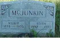 MCJUNKIN, EDITH - Scioto County, Ohio | EDITH MCJUNKIN - Ohio Gravestone Photos