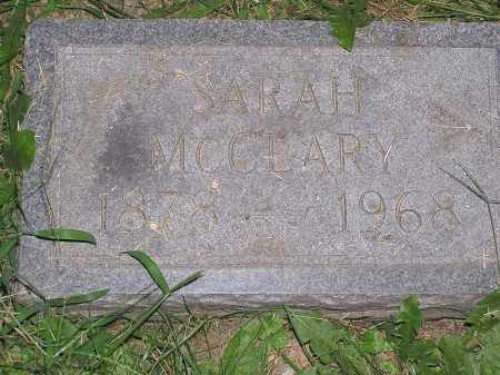 MCLEARY, SARAH - Scioto County, Ohio | SARAH MCLEARY - Ohio Gravestone Photos