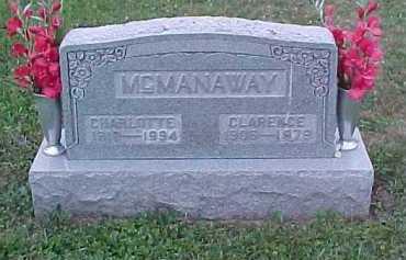 MCMANAWAY, CLARENCE - Scioto County, Ohio | CLARENCE MCMANAWAY - Ohio Gravestone Photos