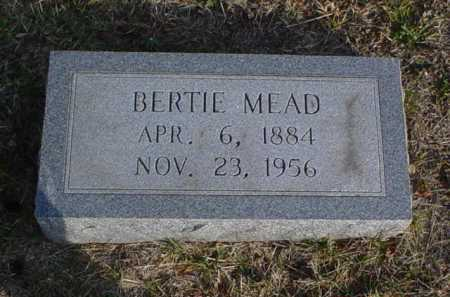 MEAD, BERTIE - Scioto County, Ohio | BERTIE MEAD - Ohio Gravestone Photos