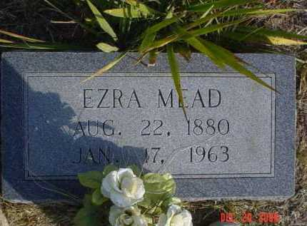 MEAD, EZRA - Scioto County, Ohio | EZRA MEAD - Ohio Gravestone Photos