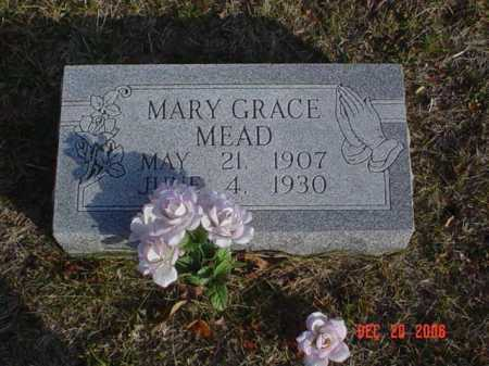 MEAD, MARY GRACE - Scioto County, Ohio | MARY GRACE MEAD - Ohio Gravestone Photos