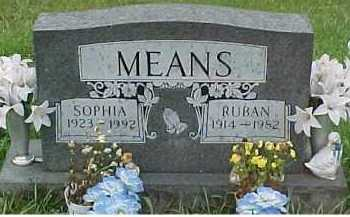MEANS, SOPHIA - Scioto County, Ohio | SOPHIA MEANS - Ohio Gravestone Photos