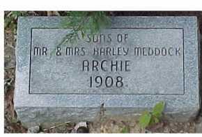 MEDDOCK, ARCHIE - Scioto County, Ohio | ARCHIE MEDDOCK - Ohio Gravestone Photos