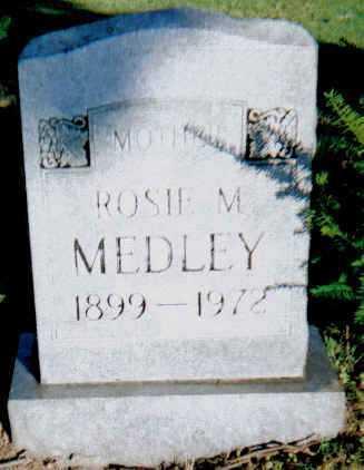MEDLEY, ROSIE M. - Scioto County, Ohio | ROSIE M. MEDLEY - Ohio Gravestone Photos