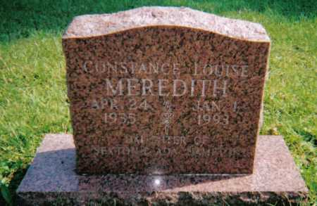 MEREDITH, CONSTANCE LOUISE - Scioto County, Ohio | CONSTANCE LOUISE MEREDITH - Ohio Gravestone Photos