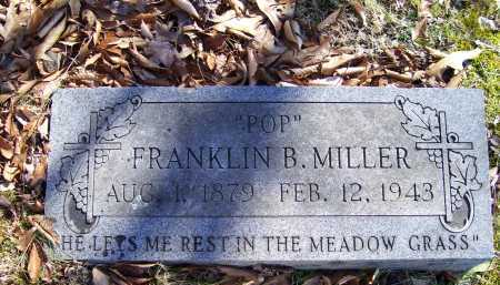 MILLER, FRANKLIN B. - Scioto County, Ohio | FRANKLIN B. MILLER - Ohio Gravestone Photos