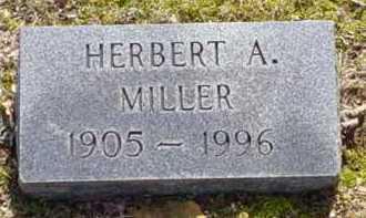 MILLER, HERBERT A. - Scioto County, Ohio | HERBERT A. MILLER - Ohio Gravestone Photos