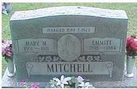 MITCHELL, MARY M. - Scioto County, Ohio | MARY M. MITCHELL - Ohio Gravestone Photos