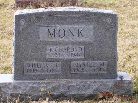 MONK, WILLIAM R. - Scioto County, Ohio | WILLIAM R. MONK - Ohio Gravestone Photos