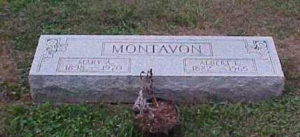 MONTAVON, MARY A. - Scioto County, Ohio | MARY A. MONTAVON - Ohio Gravestone Photos
