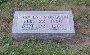 MONTAVON, CHARLES F. - Scioto County, Ohio | CHARLES F. MONTAVON - Ohio Gravestone Photos