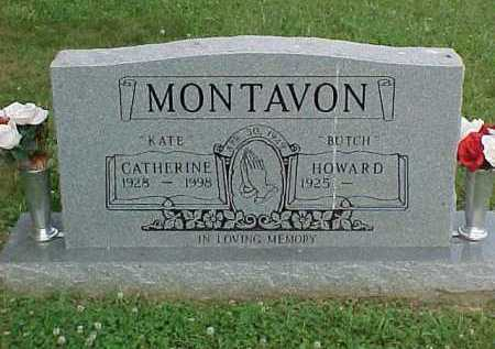 "MONTAVON, HOWARD ""BUTCH"" - Scioto County, Ohio 