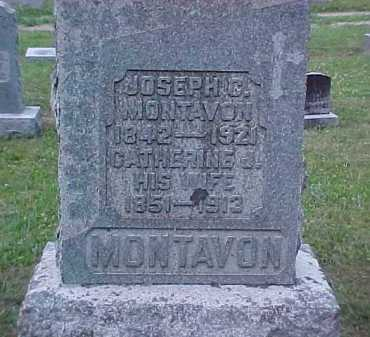 MONTAVON, CATHERINE J. - Scioto County, Ohio | CATHERINE J. MONTAVON - Ohio Gravestone Photos