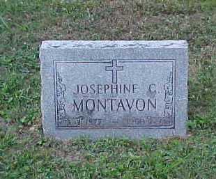 MONTAVON, JOSEPHINE C. - Scioto County, Ohio | JOSEPHINE C. MONTAVON - Ohio Gravestone Photos