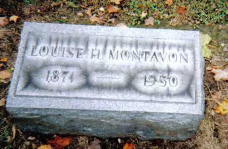 MONTAVON, LOUISE H. - Scioto County, Ohio | LOUISE H. MONTAVON - Ohio Gravestone Photos