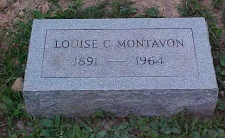 MONTAVON, LOUISE C. - Scioto County, Ohio | LOUISE C. MONTAVON - Ohio Gravestone Photos