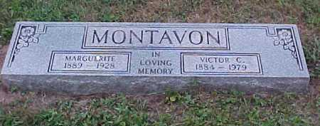 MONTAVON, MARGUERITE - Scioto County, Ohio | MARGUERITE MONTAVON - Ohio Gravestone Photos