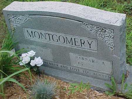 MONTGOMERY, BARBARA A. - Scioto County, Ohio | BARBARA A. MONTGOMERY - Ohio Gravestone Photos