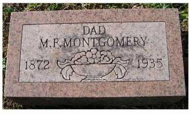 MONTGOMERY, M.F. - Scioto County, Ohio | M.F. MONTGOMERY - Ohio Gravestone Photos