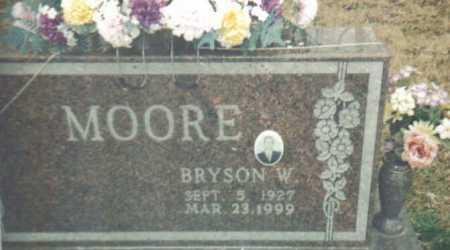 MOORE, BRYSON W. - Scioto County, Ohio | BRYSON W. MOORE - Ohio Gravestone Photos