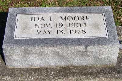 MOORE, IDA L. - Scioto County, Ohio | IDA L. MOORE - Ohio Gravestone Photos