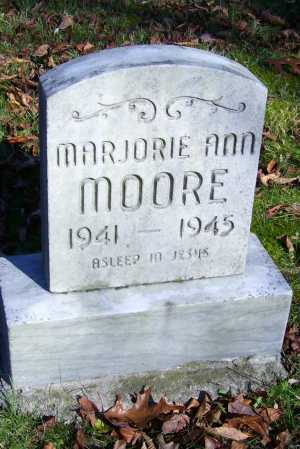 MOORE, MARGORIE ANN - Scioto County, Ohio | MARGORIE ANN MOORE - Ohio Gravestone Photos