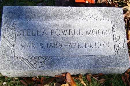 POWELL MOORE, STELLA - Scioto County, Ohio | STELLA POWELL MOORE - Ohio Gravestone Photos