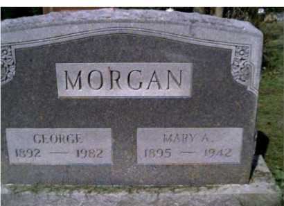 MORGAN, MARY A. - Scioto County, Ohio | MARY A. MORGAN - Ohio Gravestone Photos