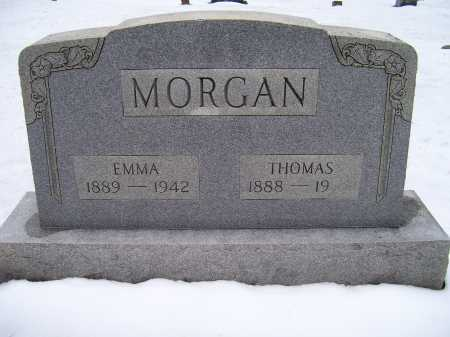 MORGAN, EMMA - Scioto County, Ohio | EMMA MORGAN - Ohio Gravestone Photos