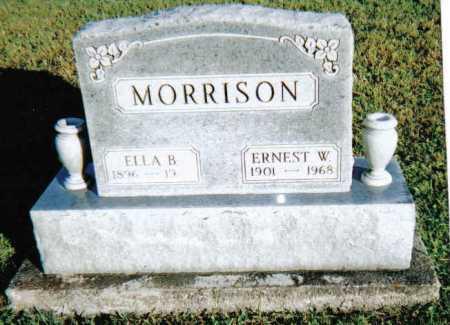 MORRISON, ERNESST W. - Scioto County, Ohio | ERNESST W. MORRISON - Ohio Gravestone Photos