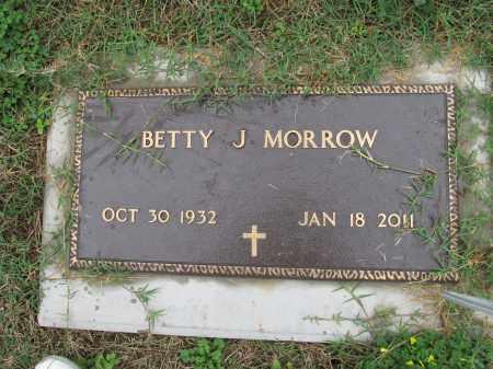 MORROW, BETTY JANE - Scioto County, Ohio | BETTY JANE MORROW - Ohio Gravestone Photos