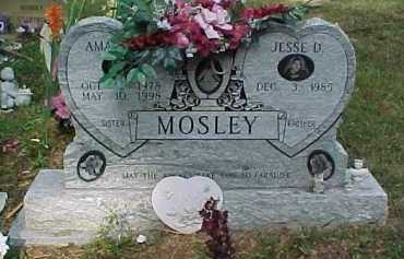 MOSLEY, AMANDA - Scioto County, Ohio | AMANDA MOSLEY - Ohio Gravestone Photos