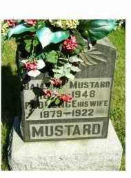 MUSTARD, FLORENCE - Scioto County, Ohio | FLORENCE MUSTARD - Ohio Gravestone Photos