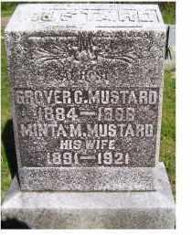 MUSTARD, GROVER C. - Scioto County, Ohio | GROVER C. MUSTARD - Ohio Gravestone Photos