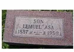 MUSTARD, LEMUEL ASA - Scioto County, Ohio | LEMUEL ASA MUSTARD - Ohio Gravestone Photos